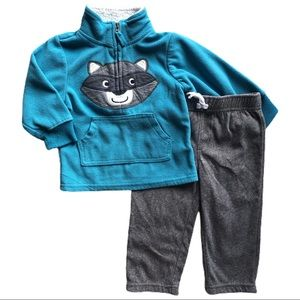 ⭐️ 12 Month Carter's Fleece Outfit